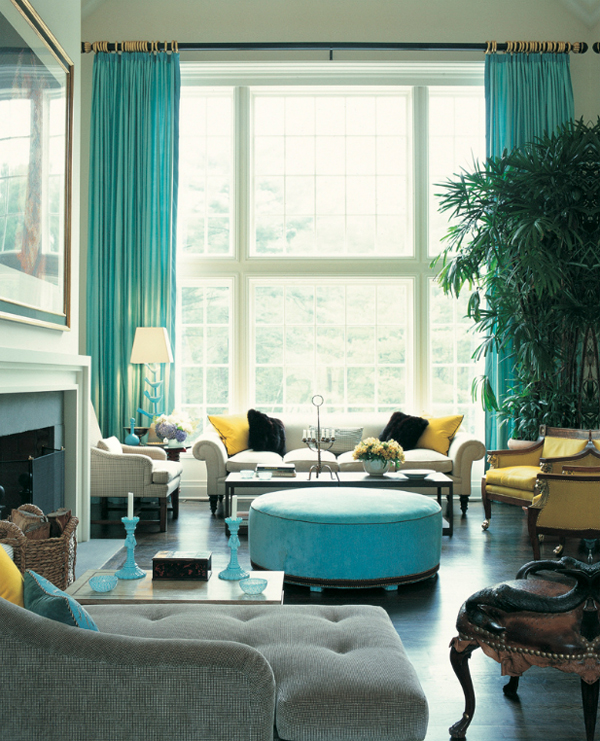 Any colour as long as it s turquoise adrienne at home for David sanders home designs