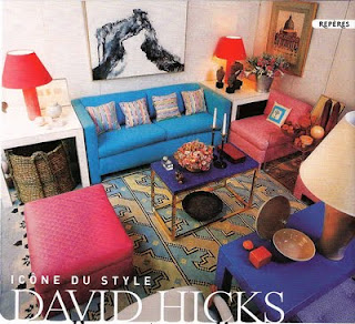 david hicks colourful living room