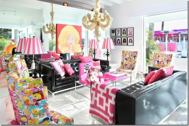neon jonathan adler 4 barbie dream house