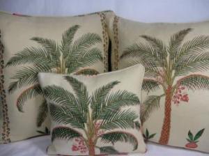 palm cushions