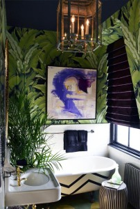 palm leaf bathroom 3