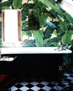 palm leaf bathroom 4