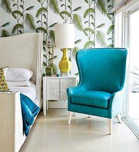 palm leaf bedroom 2