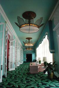palm leaf carpet